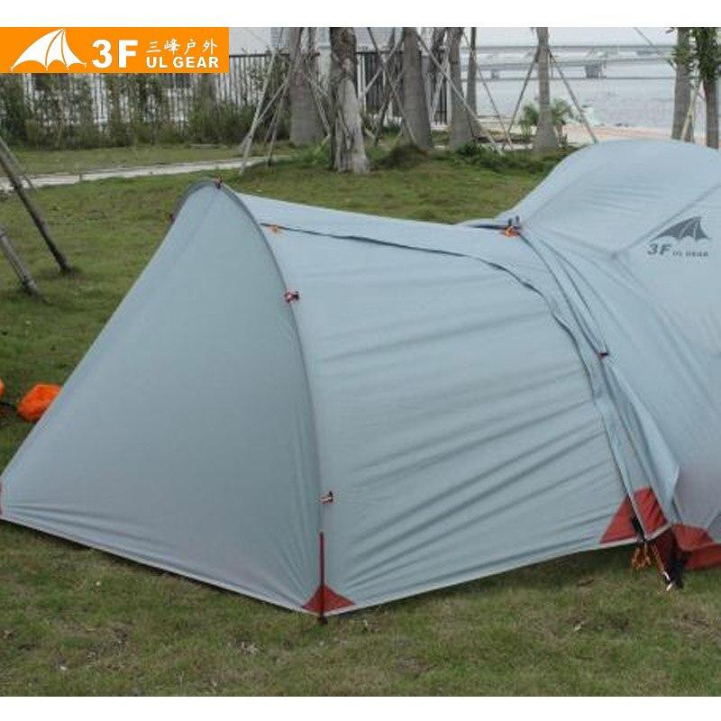3F UL Vitesse 210 T Vitesse Tente De Hangar/Vestibule D'entrée pour Piaoyun Unique ou 2-personnes Tente