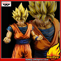 100% Original Banpresto Grandista Collection Figure SUPER SAIYAN SON GOKU Manga Dimensions from Dragon Ball Z