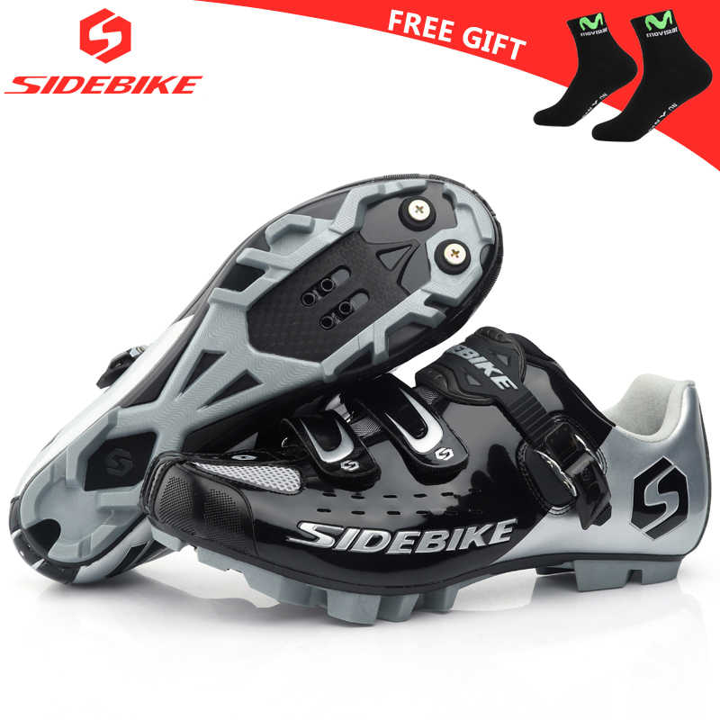 sidebike cycling shoes mtb man women racing bicycle MTB shoes mountain bike sneakers professional self-locking breathable SD-001