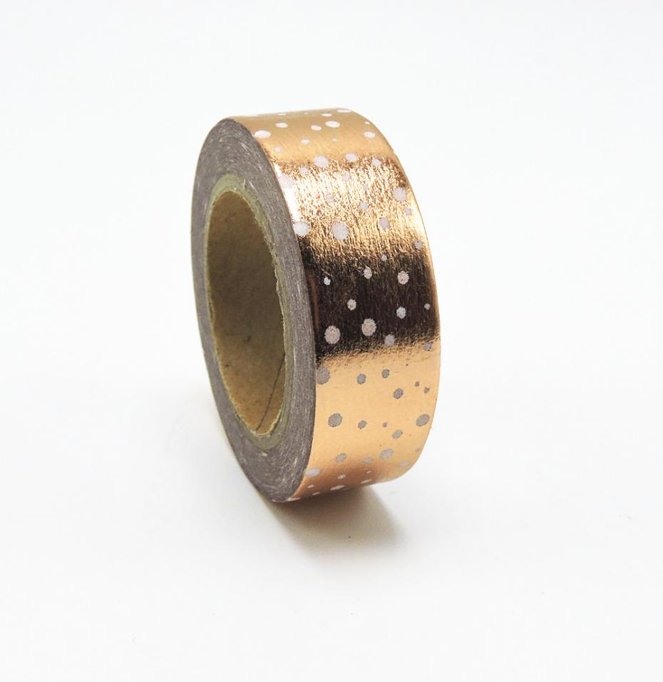 (1pc/Sell) Foil Washi Tape Set Japanese Stationery Scrapbooking Decorative Tapes Adhesive Tape Kawai  Quality