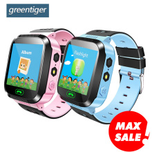 Children Smart Watch Camera Lighting Touch Screen SOS Call  LBS Tracking Location Finder