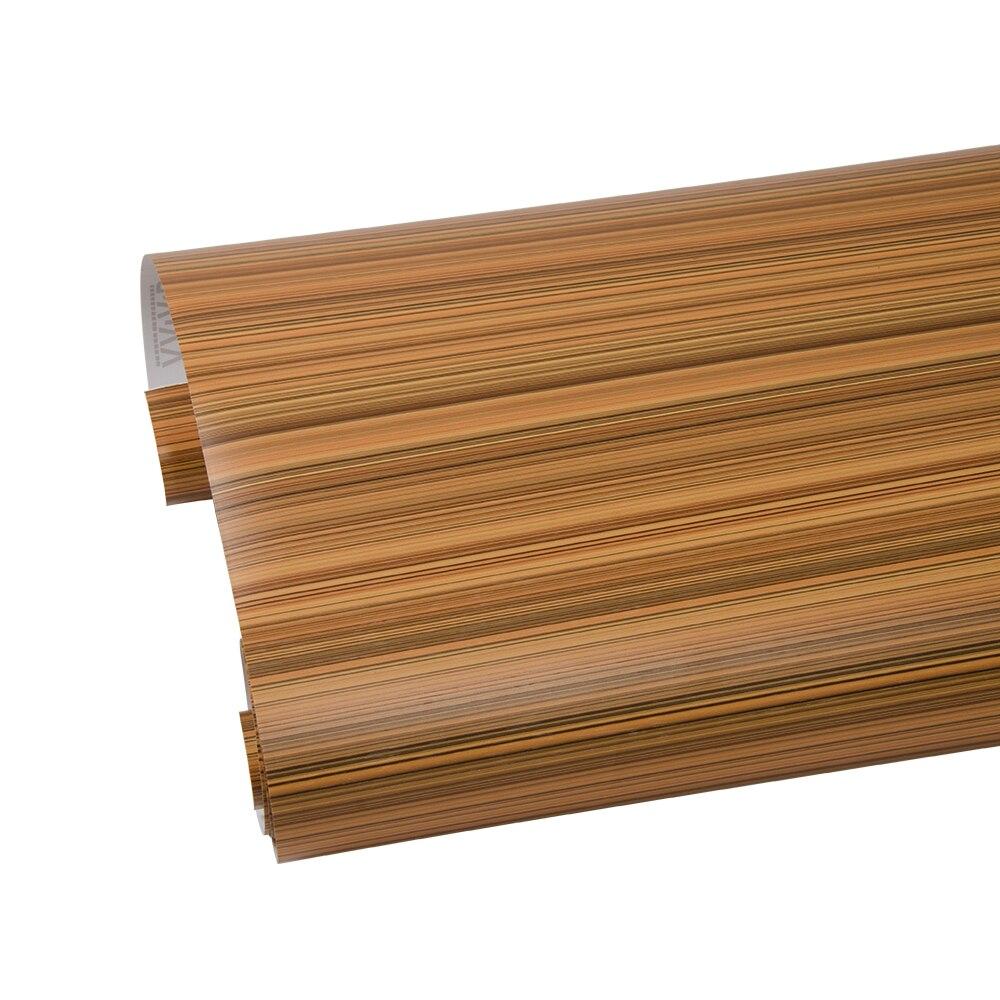 124 cm * 500 cm bois Grain vinyle maison voiture autocollant interne Film haute qualité 48.8 ''x 196.8''