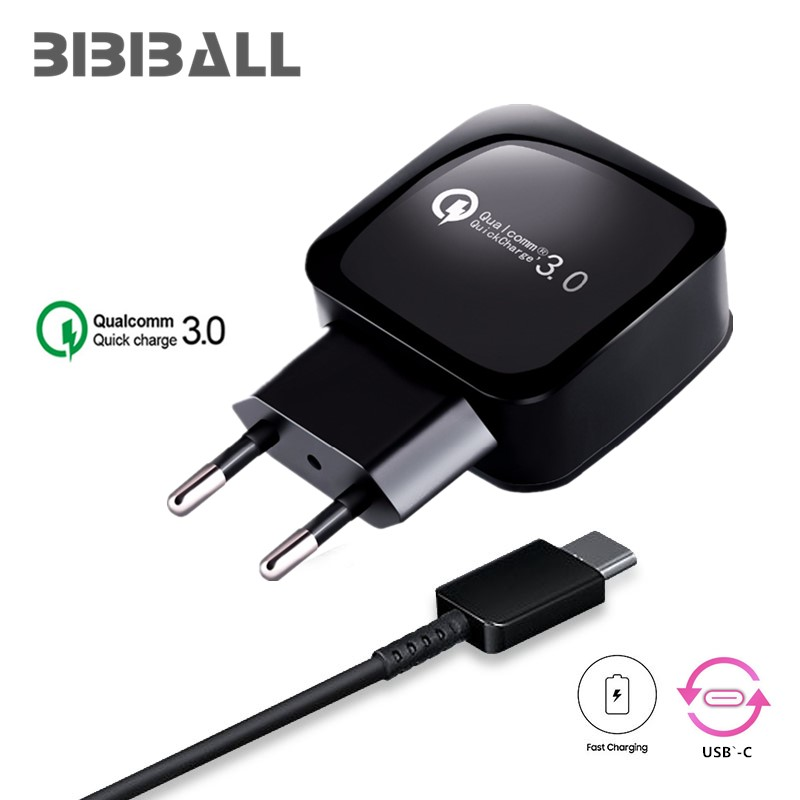 QC3.0 USB Charger Travel Wall Charger Adapter Mobile Phone Charger Universal For Doogee T3, F7 Pro Type C USB 3.1 Charging USB Зарядное устройство
