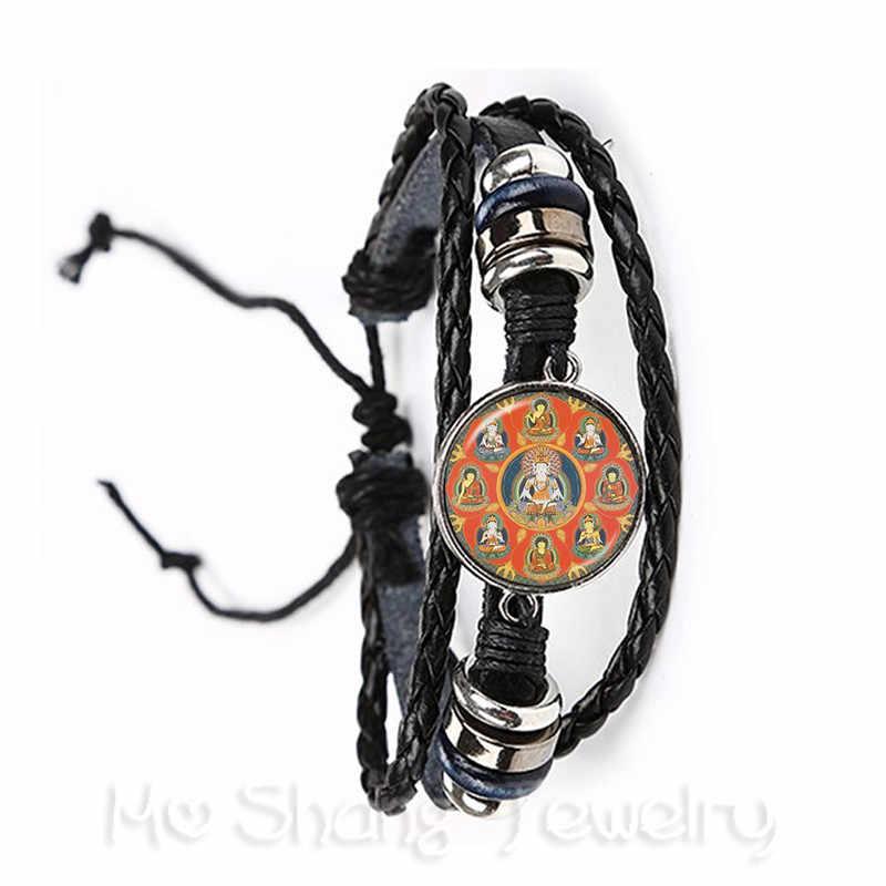 Neue Mode Glas Zeit Gem Armband 20mm Ganesha Buddha Elefanten Anhänger DIY Männer Frauen Schmuck Souvenir Für Geschenk