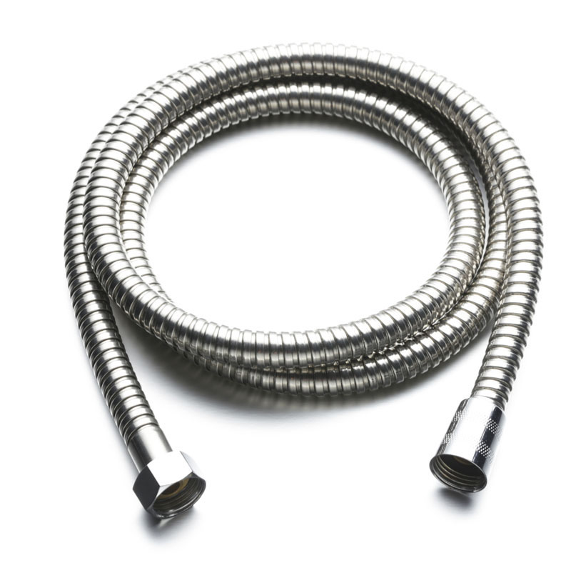 Stainless Steel Shower Hose Finish 1.5m/2m-G1/2 Bathroom Faucet Accessories Plumbing Hoses Shower Hose  Flexible Plumbing Pipe