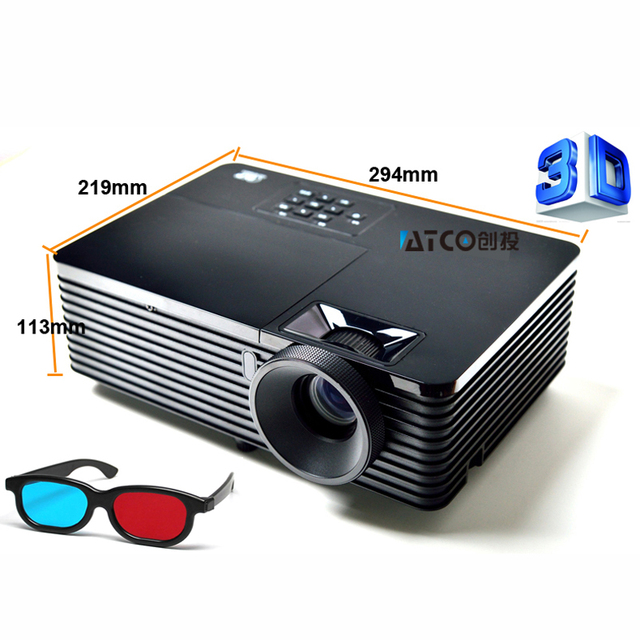 Classroom presentation home theater Daylight 5500ANSI lumens data - presentation projectors