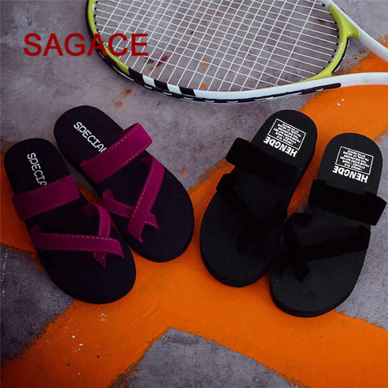 a552e51ea768d6 Detail Feedback Questions about Womens Summer Flip Flops Casual Slippers  Flat Sandals Beach Open Toe Shoes p  dopship on Aliexpress.com