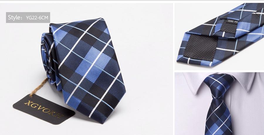 Men ties necktie Men's vestidos business wedding tie Male Dress legame gift gravata England Stripes JACQUARD WOVEN 6cm 25