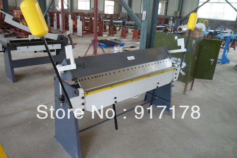 1500 2 5mm Hand Brake Sheet Metal Brakes Bending Machine