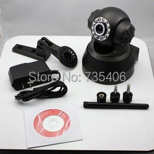ФОТО P2P TF SD Card Wireless Wifi Dual Audio HD Pan/Tilt IP Camera Home Security Surveillance System