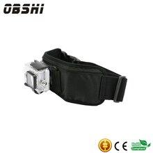 Ação Da Câmera Gopro Acessórios Da correia correias de Cintura Ajustável 4x holderMount para GoPro Hero 3/4 xiaomi redmi telefone Móvel Esporte