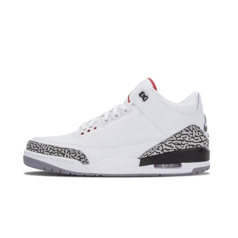 Hot Basketball Shoes Katrina Charity Game Pure Black Cement White Seoul Outdoor Sneakers Sport Sneaker 40-47 Jordan Retro 3 Man