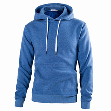 2018 New Pattern Man Solid Color Pullover mens hoodies hip hop men sweatshirt W163 Free shipping