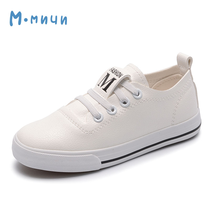 MMNUN 2018 New Spring Children Shoes Girls Boys Shoes Breathable Pu Leather Shoes for Boys High Quality Boys Sneakers Kids dinoskulls new kids sport shoes children sneakers breathable leather boy running shoes 2018 girls leisure casual shoes
