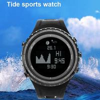 Tide Fishing Digital Wrist Watch Altimeter Barometer Thermometer Waterproof