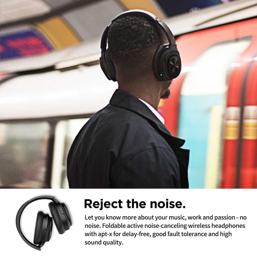 Cowin SE7MAX, активные наушники с шумоподавлением, Bluetooth 5,0, беспроводные наушники с микрофоном, супер HiFi, глубокий бас, гарнитура