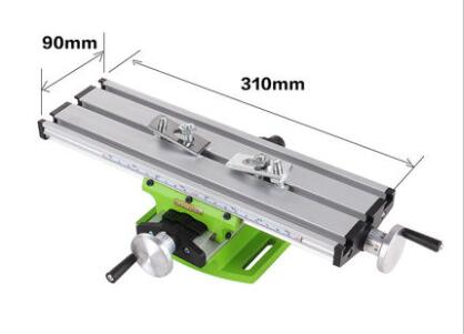 Miniature Precision Multifunction Milling Machine Bench Drill Vise Fixture Worktable X Y-axis Adjustment Coordinate Table.