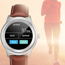 Bluetooth Smartwatch LEM1 Perfektes Design Full HD Ips-bildschirm für Android IOS handys anti-verlorene lange standby-armbanduhr