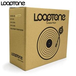 Image 4 - Looptone 3 Speed Classic Fonograaf Grammofoon Riem Aangedreven Draaitafel Vinyl Lp Platenspeler W/ 2 Ingebouwde in Stereo Speakers