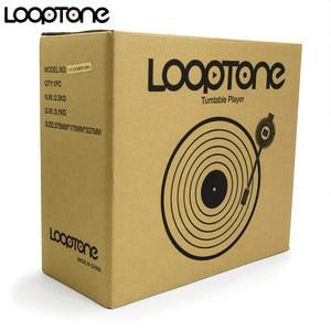 Image 4 - Looptone 3 高速古典的な蓄音機蓄音機ベルト駆動ターンテーブルビニールlpレコードプレーヤーw/2 内蔵ステレオスピーカー