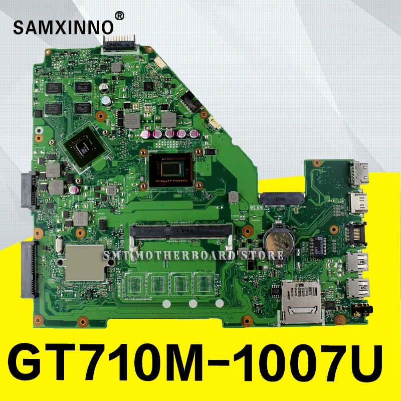 X550CC Motherboard Rev2.0 1007U For ASUS X550CC R510C X552C laptop Motherboard X550CC Mainboard X550CC Motherboard test 100% ok цена