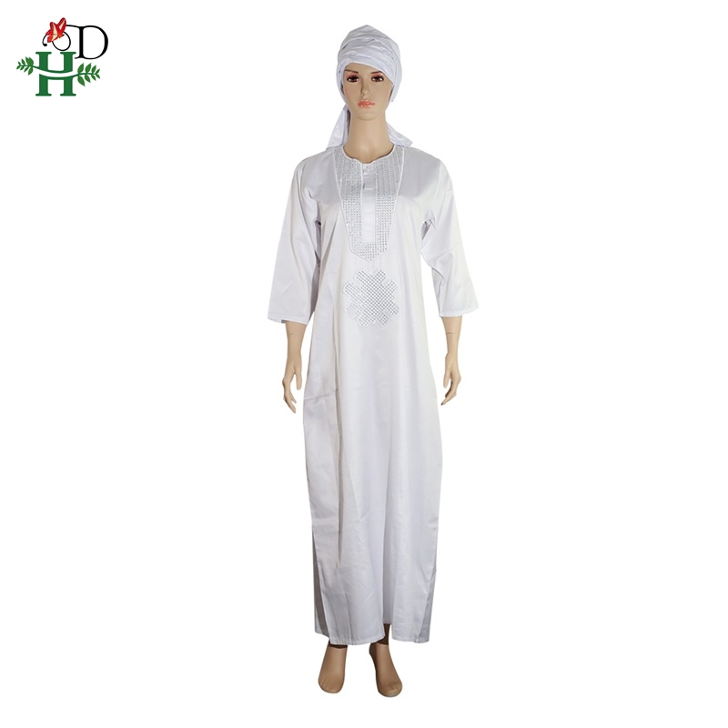 white african women dresses dashiki embroidery plus size ladies african dresses robe africaine maxi dress 3xl 4XL scarf hearwrap