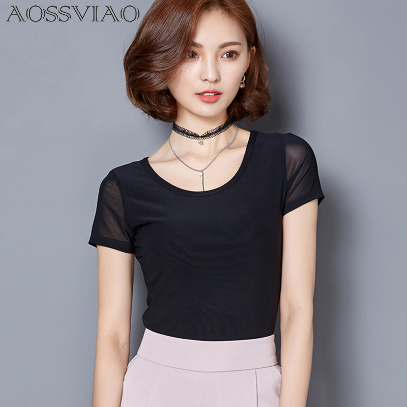 2018 summer women blouses chemise femme blusas camisetas mujer ladies tops short sleeve shirt women plus size chiffon blouse