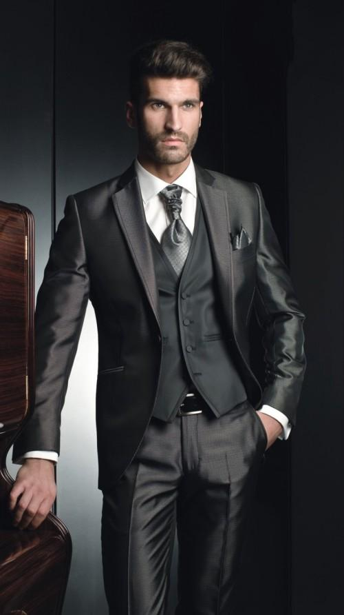 Shiny Grey Suits for Men Promotion-Shop for Promotional Shiny Grey