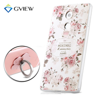 High Quality 3D Relief Print Soft TPU Back Cover Case For Huawei Ascend Mate 8 6