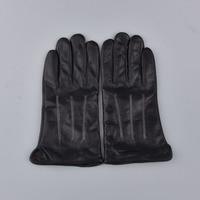 New Designer Luxury Men Gloves Drive 100 Real Genuine Leather Sheepskin Mittens Warm Winter Gloves For