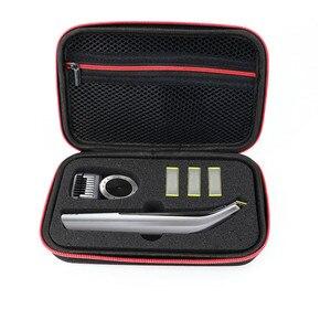 Image 3 - Nieuwste Haed Draagbare Case voor Philips OneBlade Pro Trimmer Scheerapparaat Accessoires EVA Reistas Opslag Pack Box Cover Zipper Pouch
