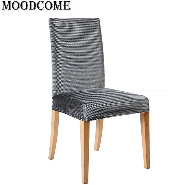 Dining Room Velvet Chair Cover Spandex Stretch Banquet Housse Chaise Mariage Computer