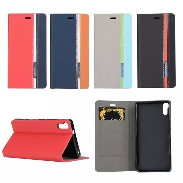 "Luxury wallet bag stand Mixed colors flip Leather case for Lenovo Vibe Shot Z90 5.0"" Fundas bag for or Lenovo Vibe Shot Z90A40"