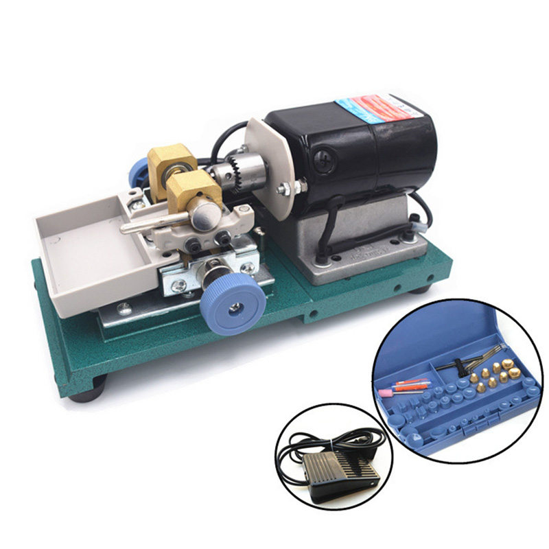 Pearl Drilling Holing Machine Driller Bead Jewelry Punch Engraving Engraver Machine Tool 110V/220V