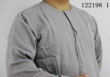 Ramadan mens thobe High quality ,men Islamic clothing round , Oman Men's abaya Muslim dress men
