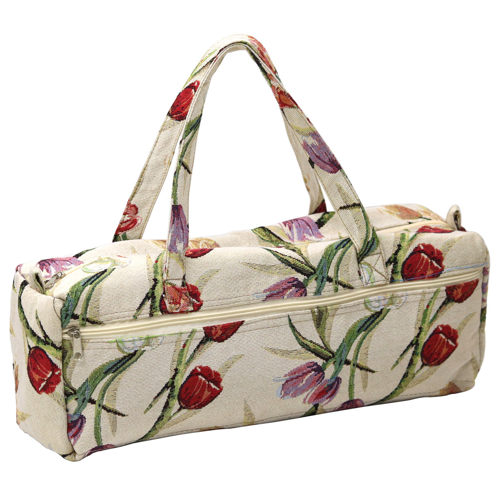 2 Designs Household Knitting Needles Storage Bag Knitting Tools Organizer Bag Needlework Tools Storage Accessories