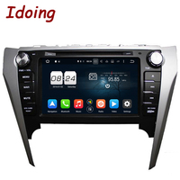Idoing 2Din Steering Wheel Android6 0For Toyota Camery 2012 Car DVD Player 8 Core 2G RAM