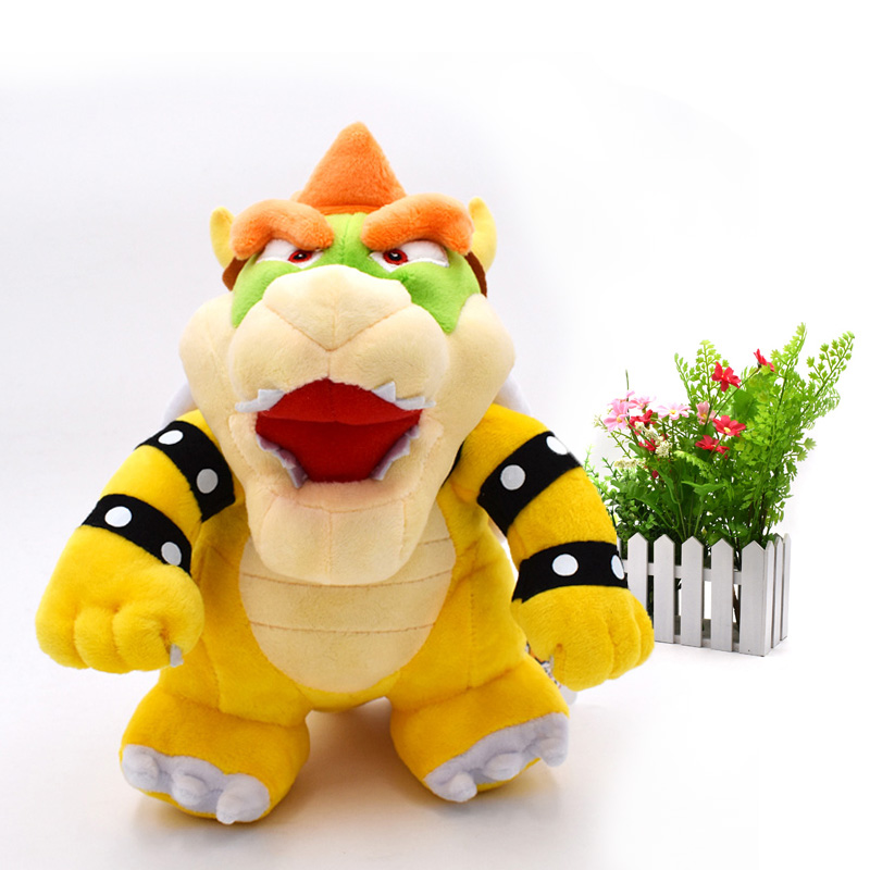 Super Mario Bros stand Bowser Koopa Koopalings Animal Stuffed Plush Dolls 1025cm 50pcs/lot