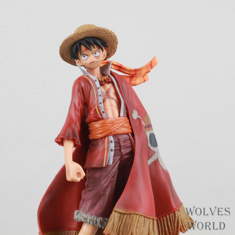 Anime One Piece Monkey D Luffy 15th Edition VO1.3 PVC Action Figure Collectible Toy 16CM OPFG361