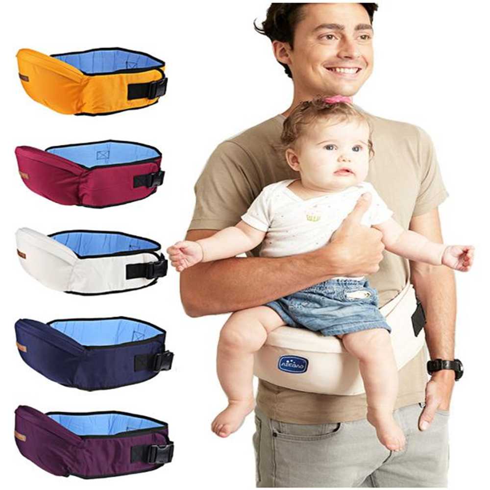 New Baby Carrier 2-18 Months Waist Stool Walkers Baby Kangaroo Sling Hold Waist Belt Backpack Hipseat Belt Kids Infant Hip Seat