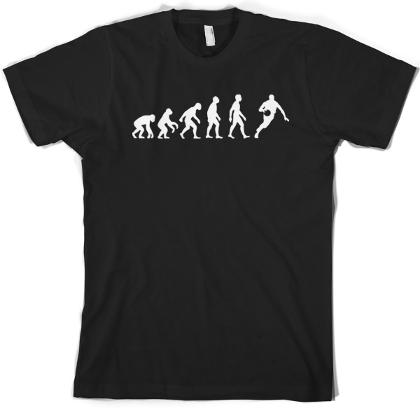 Evolution of Man BasketballER T Shirt Gift JerseyER Clothing 10 Colours S XXXL Print T Shirt Mens Short Sleeve Hot Tops in T Shirts from Men 39 s Clothing