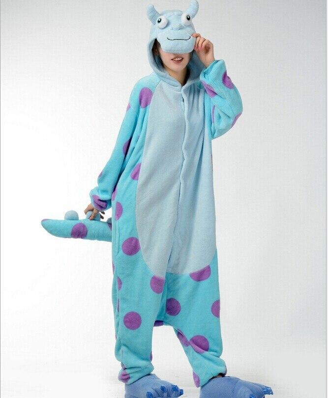 Pánské dámy Blue Cow Cartoon Dospělé zvířecí Onesies Onsie Pyžamo Pyžama C005 S / M / L / XL / XL