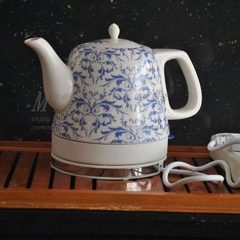 Supply Jingdezhen Ceramic intelligent electric kettle porcelain kettle housewarming gifts gift 18005 #