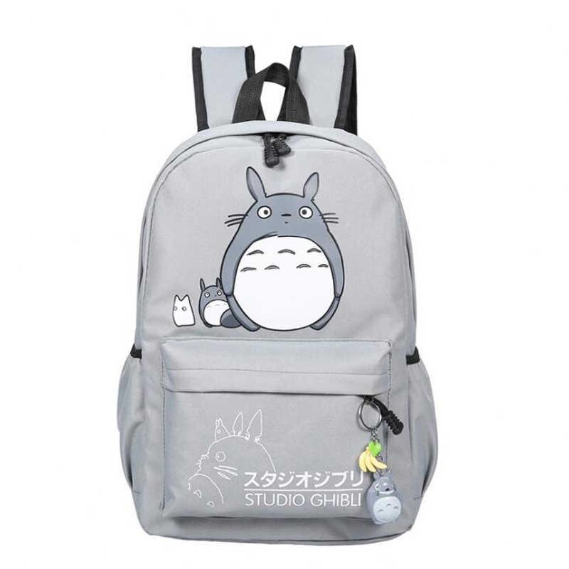 b74eb9743cb6 Прямая доставка Тоторо рюкзак 3D печать путешествия softback Для женщин  Mochila школа пространство рюкзак Тетрадь Обувь