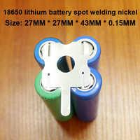 10 unids/lote 4S 18650 Paquete de batería de litio de lugar soldable en forma de U-chapa de níquel T6 Paquete de batería níquel Chapado en níquel de acero