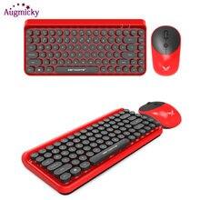 Новейшая винтажная игровая клавиатура в стиле панк комбинированная