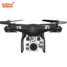 Global Drone RC Quadcopter com Câmera HD FPV WiFi Real-time transmissão de Vídeo 2.4G 4CH RC Dron VS SYMA X5SW JJRC H31