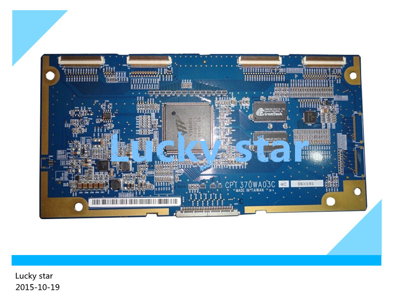 100% tested good working High-quality for original 98% new CPT 370WA03C 4G 4C2 AB AH logic board 2pcs/lot 100% tested good working high quality for original 98% new t370hw04 v4 ctrl bd 37t06 c01 logic board 2pcs lot