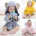 Toalha de Bebê com capuz com Cinto de Algodão 3D Animal Dos Desenhos Animados Do Bebê Toalhas de Banho Roupão Toalha Criança Macio Respirável Infantil Produtos de banho com Duche