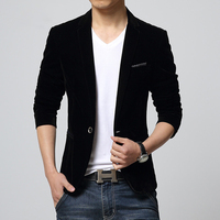 Ready For 11 11 Hot Sale Fashion Mens Corduroy Blazers Jacket Solid Color Latest Coat Design